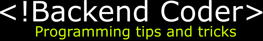 Backend Coder Logo